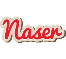 Naser chocolate logo