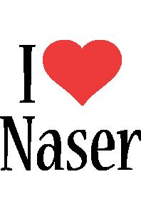 Naser i-love logo