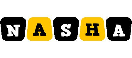 Nasha boots logo