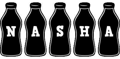 Nasha bottle logo