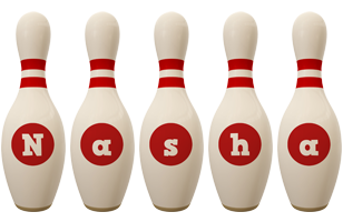 Nasha bowling-pin logo