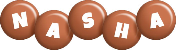 Nasha candy-brown logo