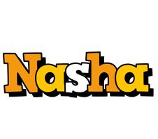 Nasha cartoon logo