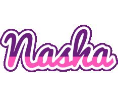 Nasha cheerful logo
