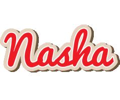 Nasha chocolate logo