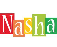 Nasha colors logo