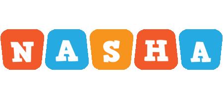 Nasha comics logo
