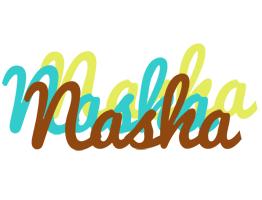 Nasha cupcake logo