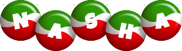 Nasha italy logo
