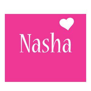 Nasha love-heart logo