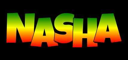 Nasha mango logo
