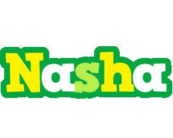 Nasha soccer logo