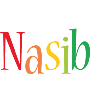 Nasib birthday logo