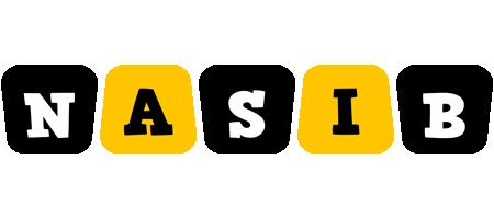 Nasib boots logo