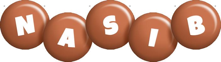 Nasib candy-brown logo