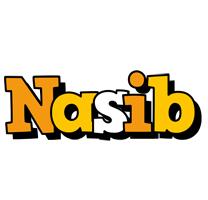 Nasib cartoon logo