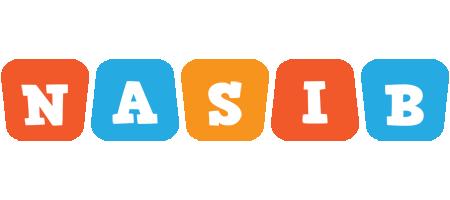 Nasib comics logo