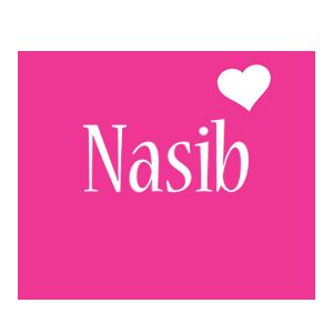 Nasib love-heart logo