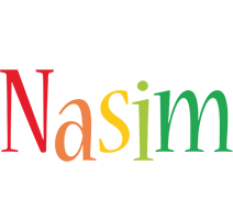 Nasim birthday logo