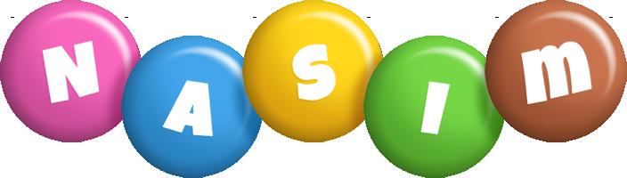 Nasim candy logo