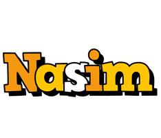 Nasim cartoon logo