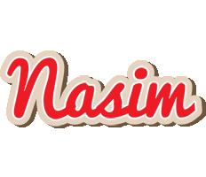 Nasim chocolate logo