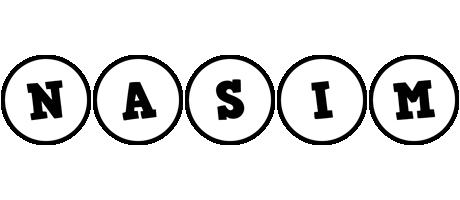 Nasim handy logo