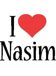 Nasim i-love logo