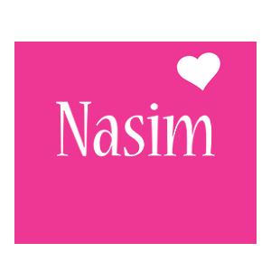 Nasim love-heart logo