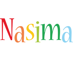 Nasima birthday logo