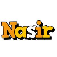 Nasir cartoon logo