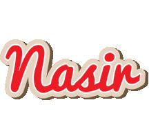 Nasir chocolate logo