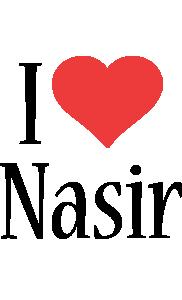 Nasir i-love logo