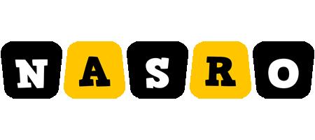 Nasro boots logo