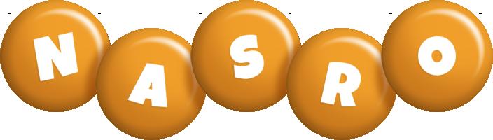 Nasro candy-orange logo
