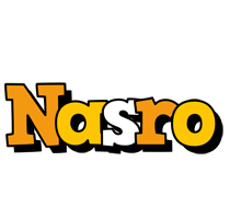 Nasro cartoon logo