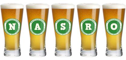 Nasro lager logo