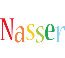 Nasser birthday logo