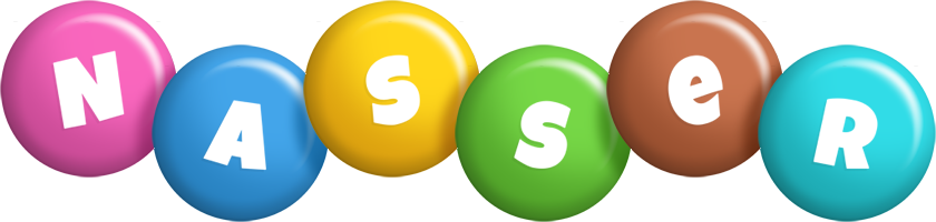 Nasser candy logo
