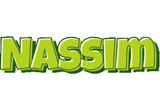 Nassim summer logo