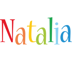Natalia birthday logo