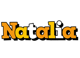 Natalia cartoon logo