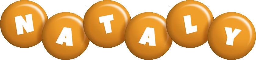Nataly candy-orange logo