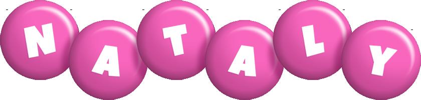 Nataly candy-pink logo