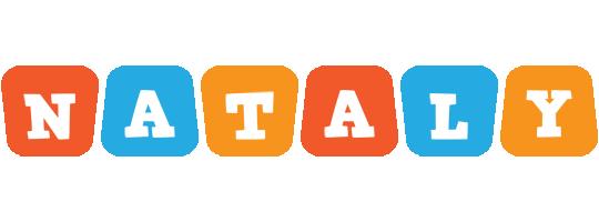 Nataly comics logo
