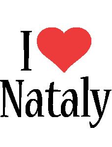 Nataly i-love logo
