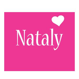 Nataly love-heart logo