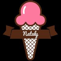 Nataly premium logo