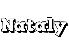 Nataly snowing logo