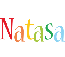 Natasa birthday logo